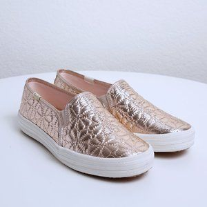 NWOT Keds x Kate Spade Double Decker Quilted Slip